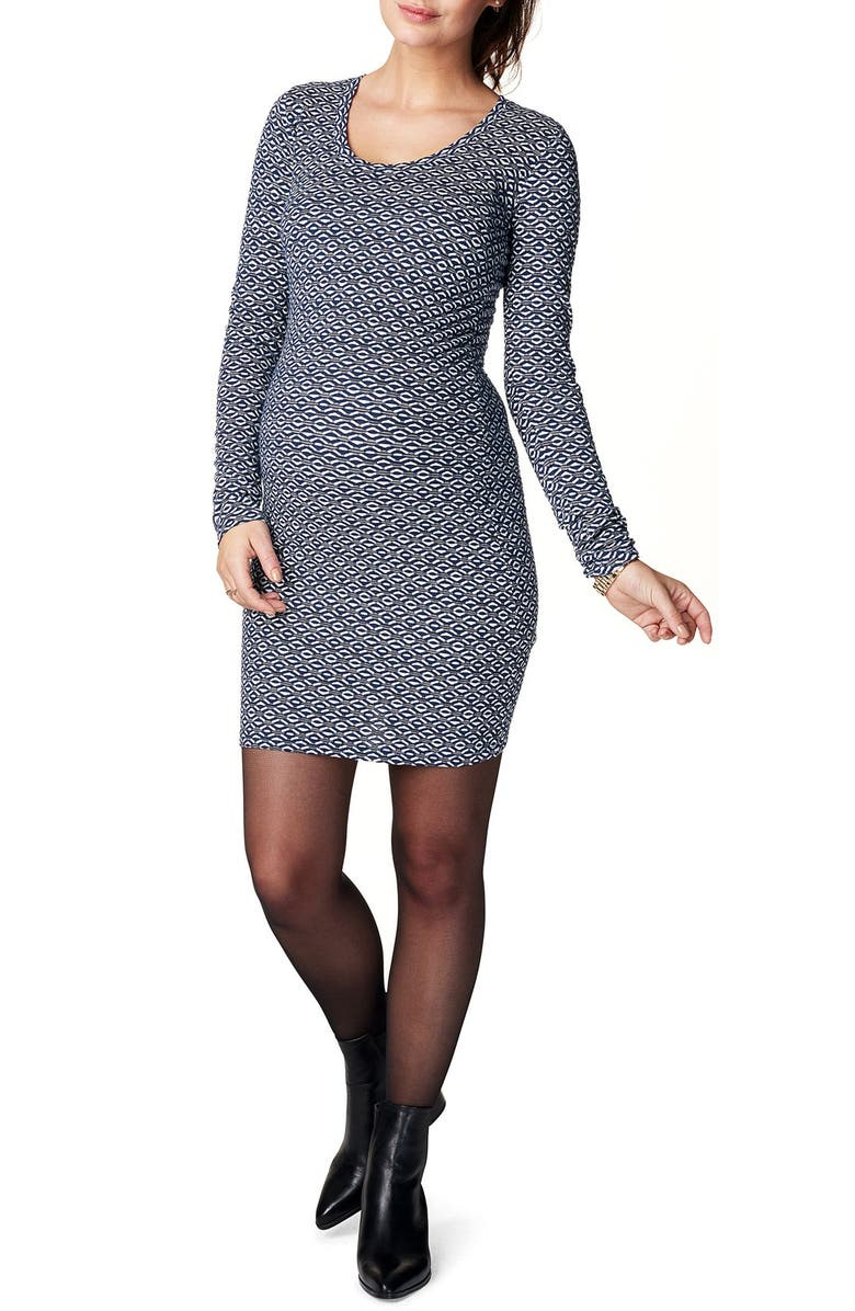 Emma Maternity Body-Con Dress