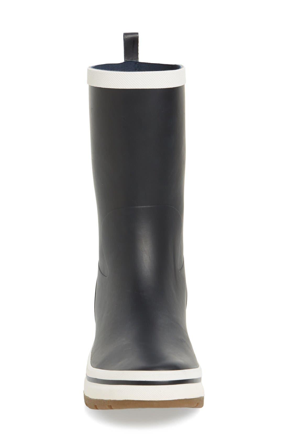 'Midsund 2' Rain Boot,                             Alternate thumbnail 3, color,                             Navy