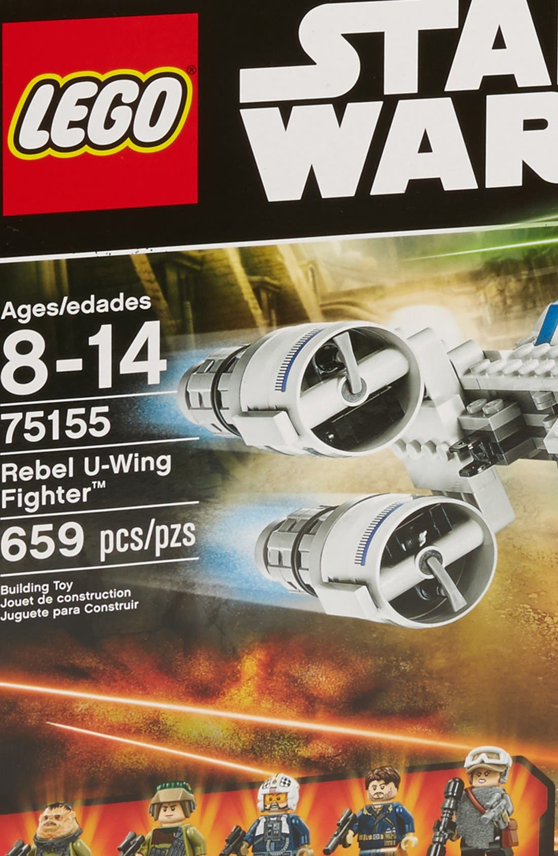 Star Wars<sup>™</sup> Rebel U-Wing Fighter<sup>™</sup> - 75155,                             Alternate thumbnail 4, color,                             Multi