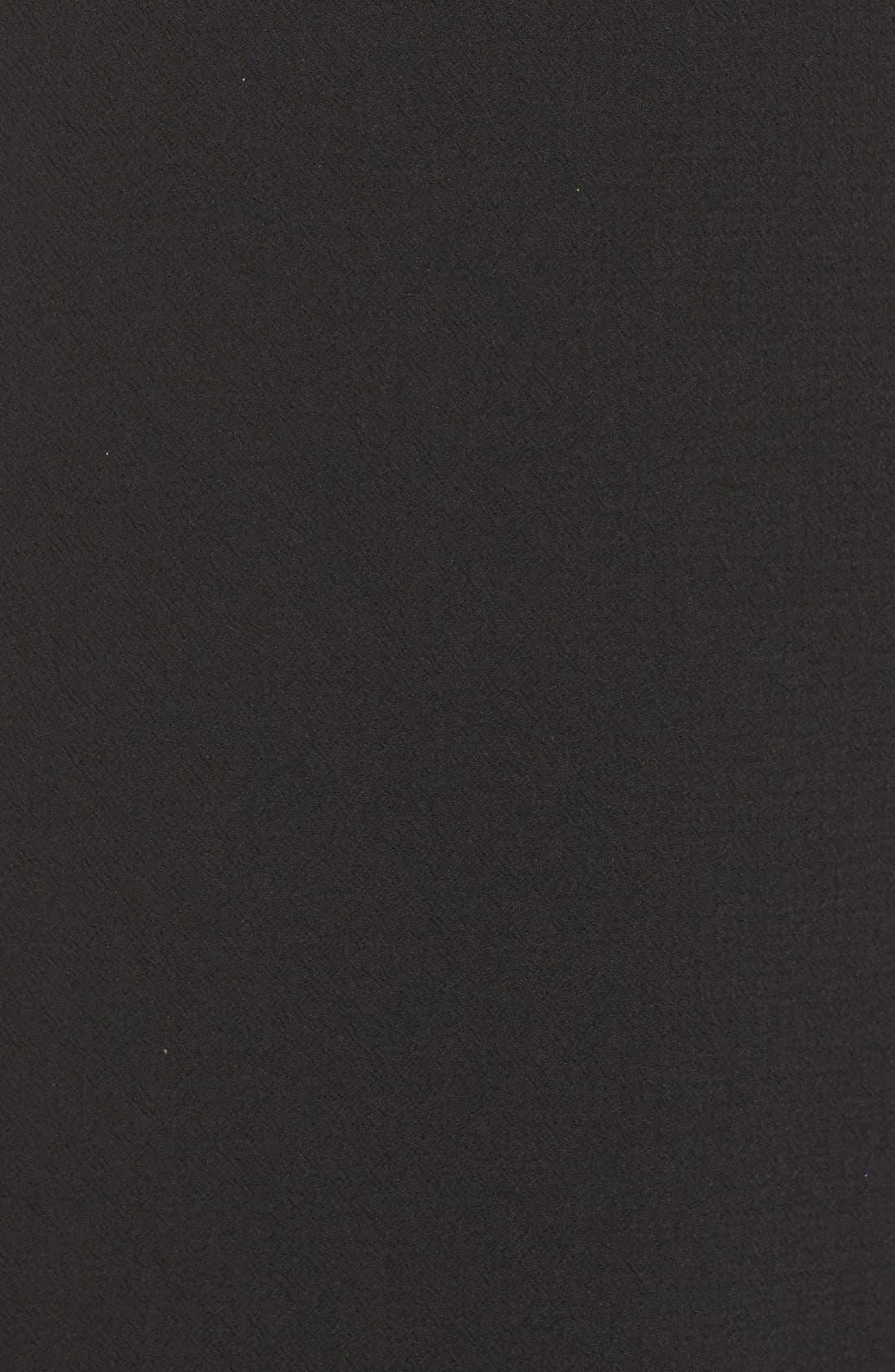 Alternate Image 6  - Eliza J Cape A-Line Dress