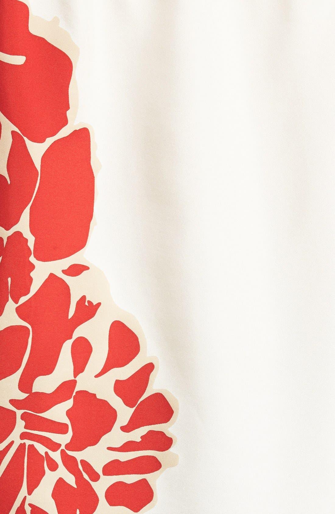 Alternate Image 6  - Tibi Orla Bloom Silk Off the Shoulder Top