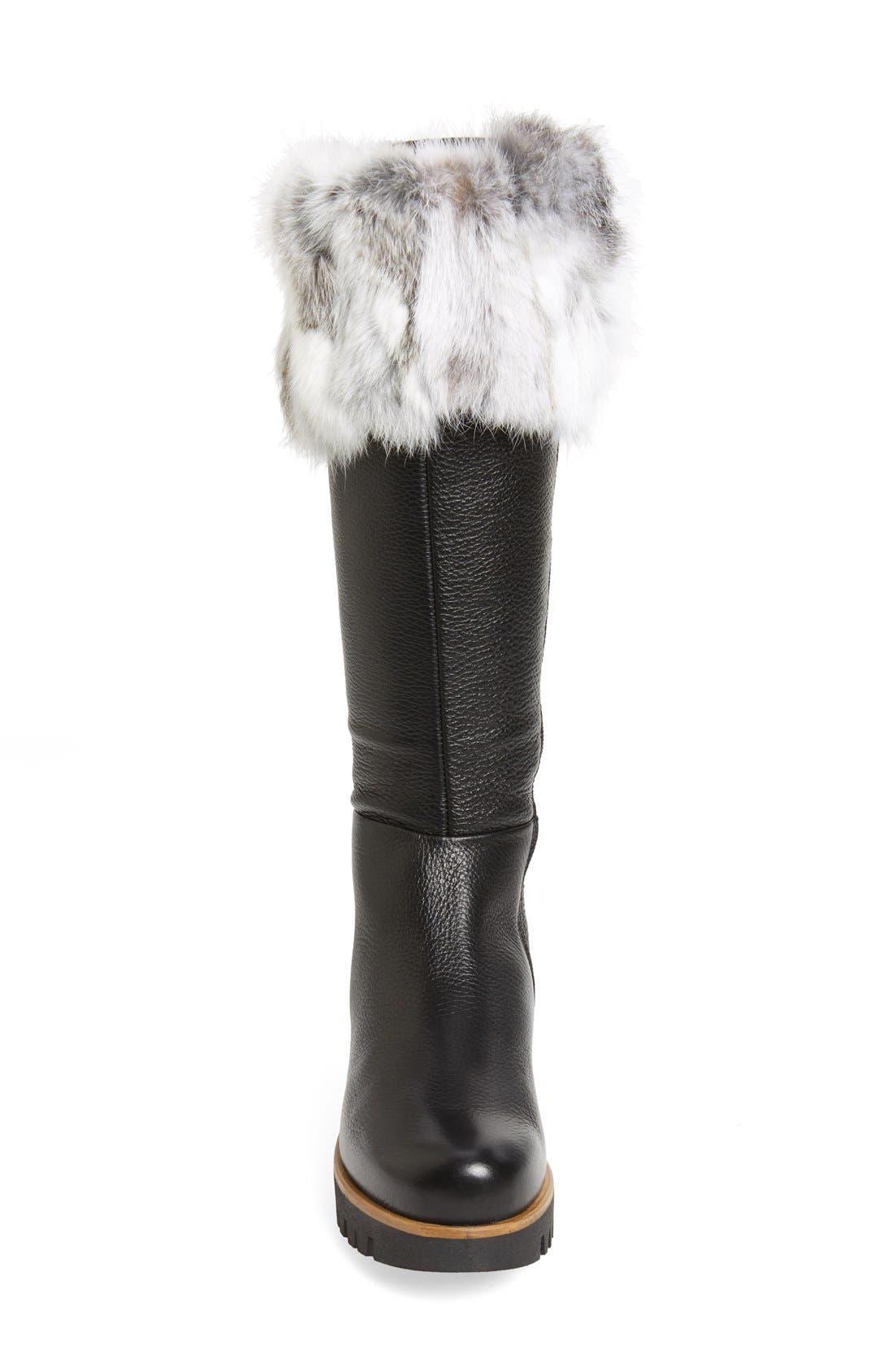 Alternate Image 3  - Rudsack Baddow Genuine Rabbit Fur Trim Winter Boot (Women)