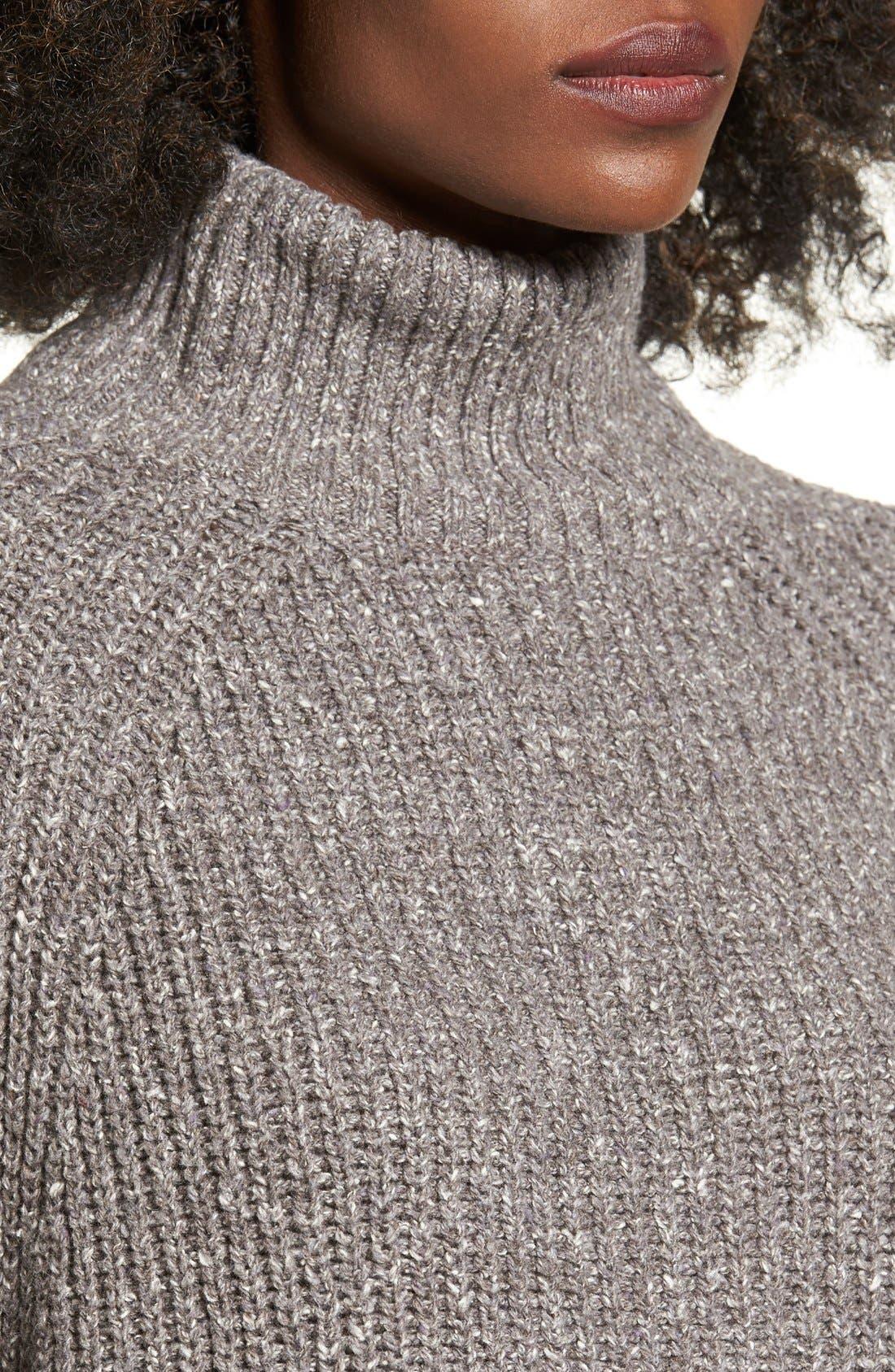 Alternate Image 4  - BP. Mock Neck Sweater