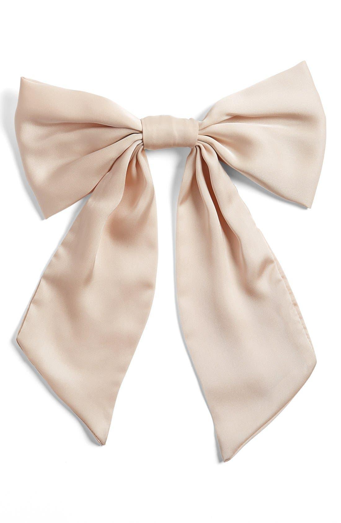 Bow Pin,                             Main thumbnail 1, color,                             Light Pink
