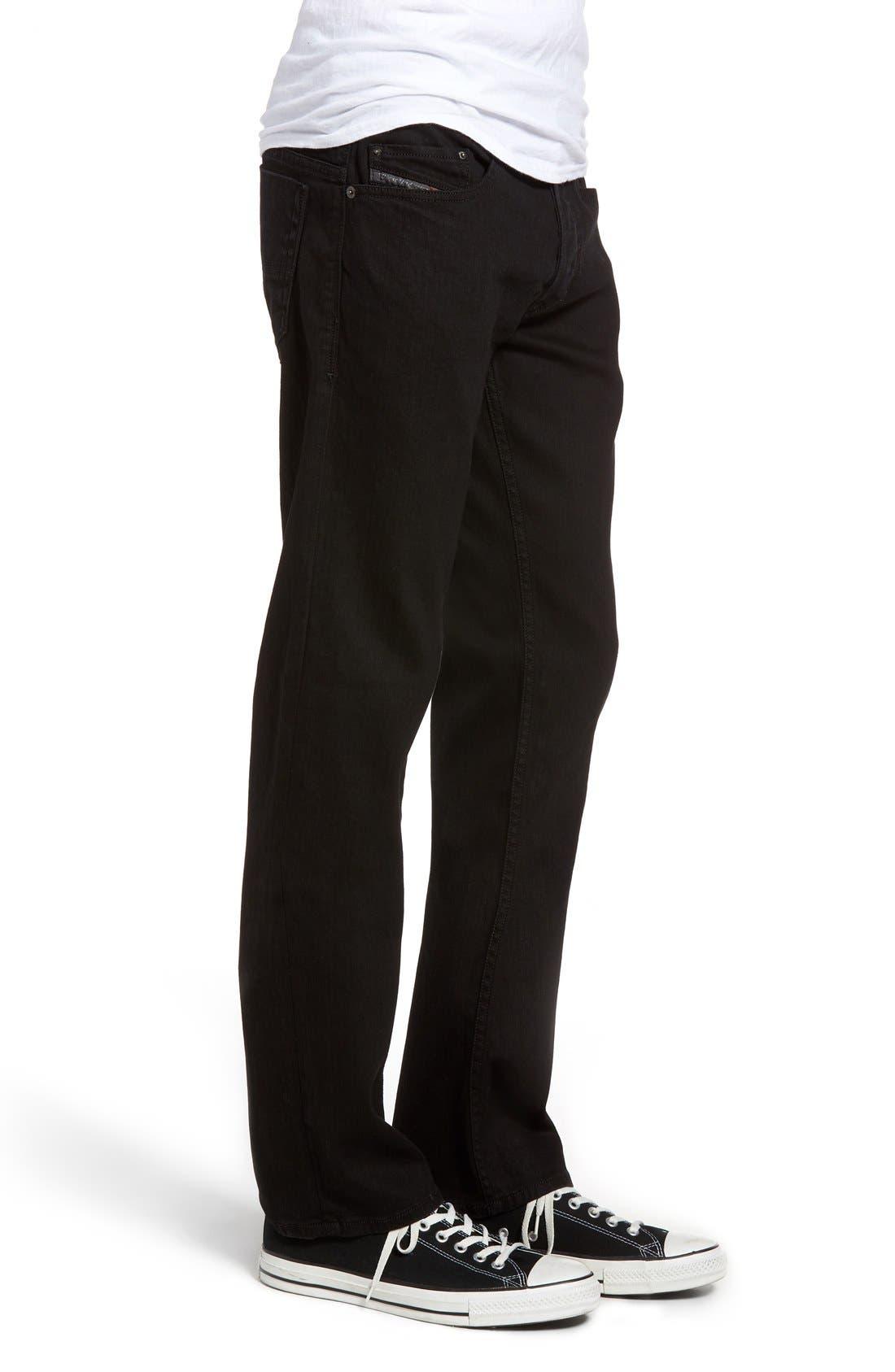 Alternate Image 3  - DIESEL® Safado Slim Fit Jeans (Z886)