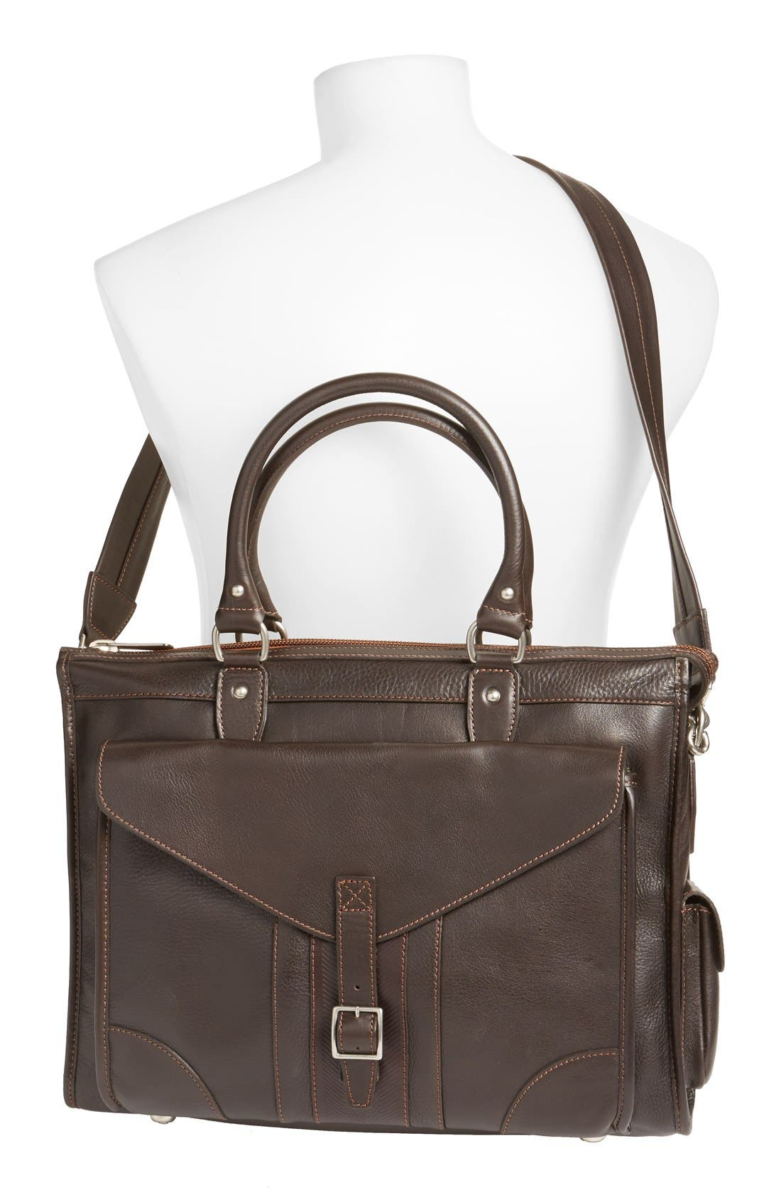 'Rudyard - Martingale' Briefcase,                             Alternate thumbnail 2, color,                             Dark Brown