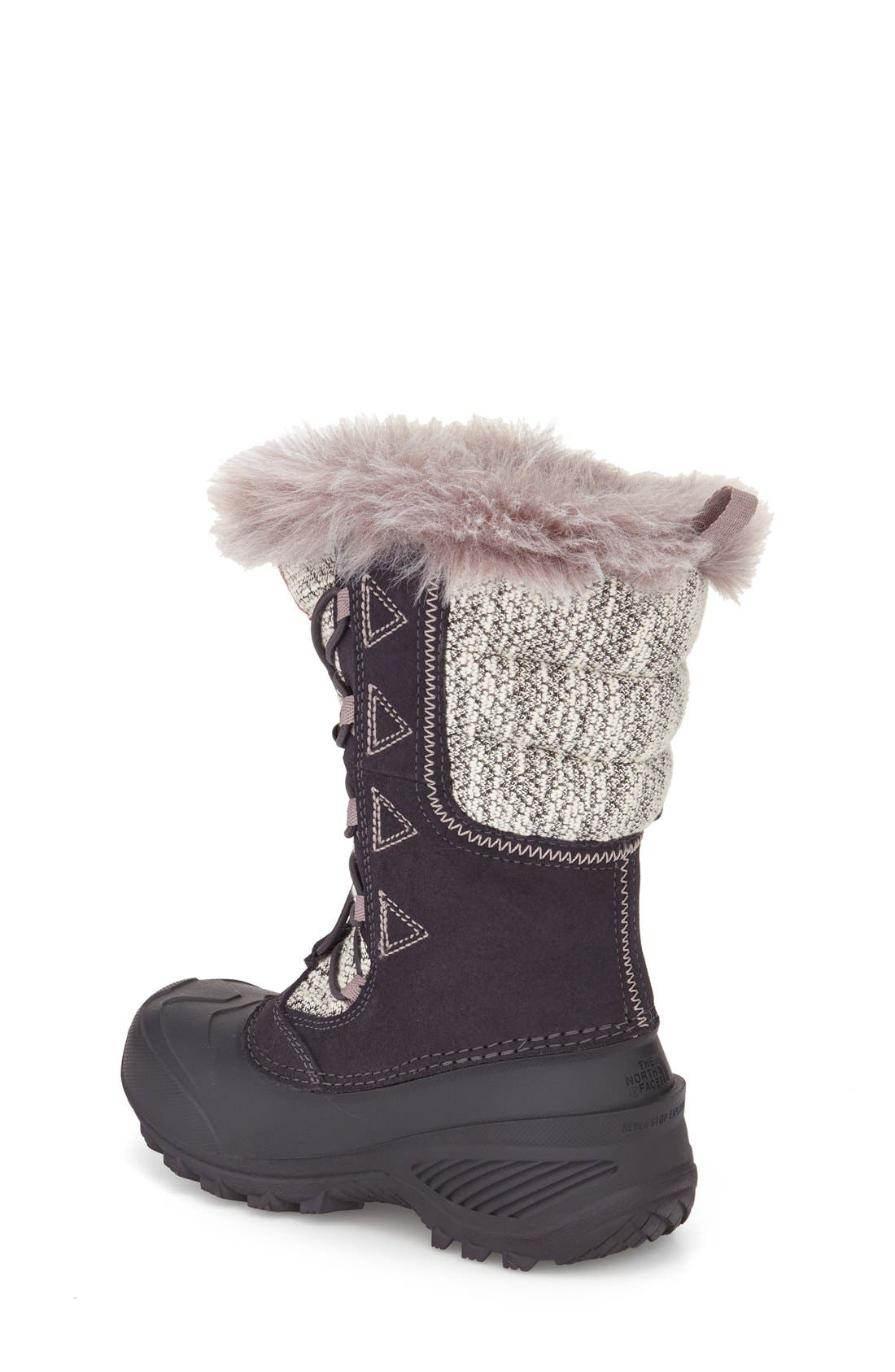 Alternate Image 2  - The North Face Shellista Lace II Waterproof Boot (Toddler, Little Kid & Big Kid)
