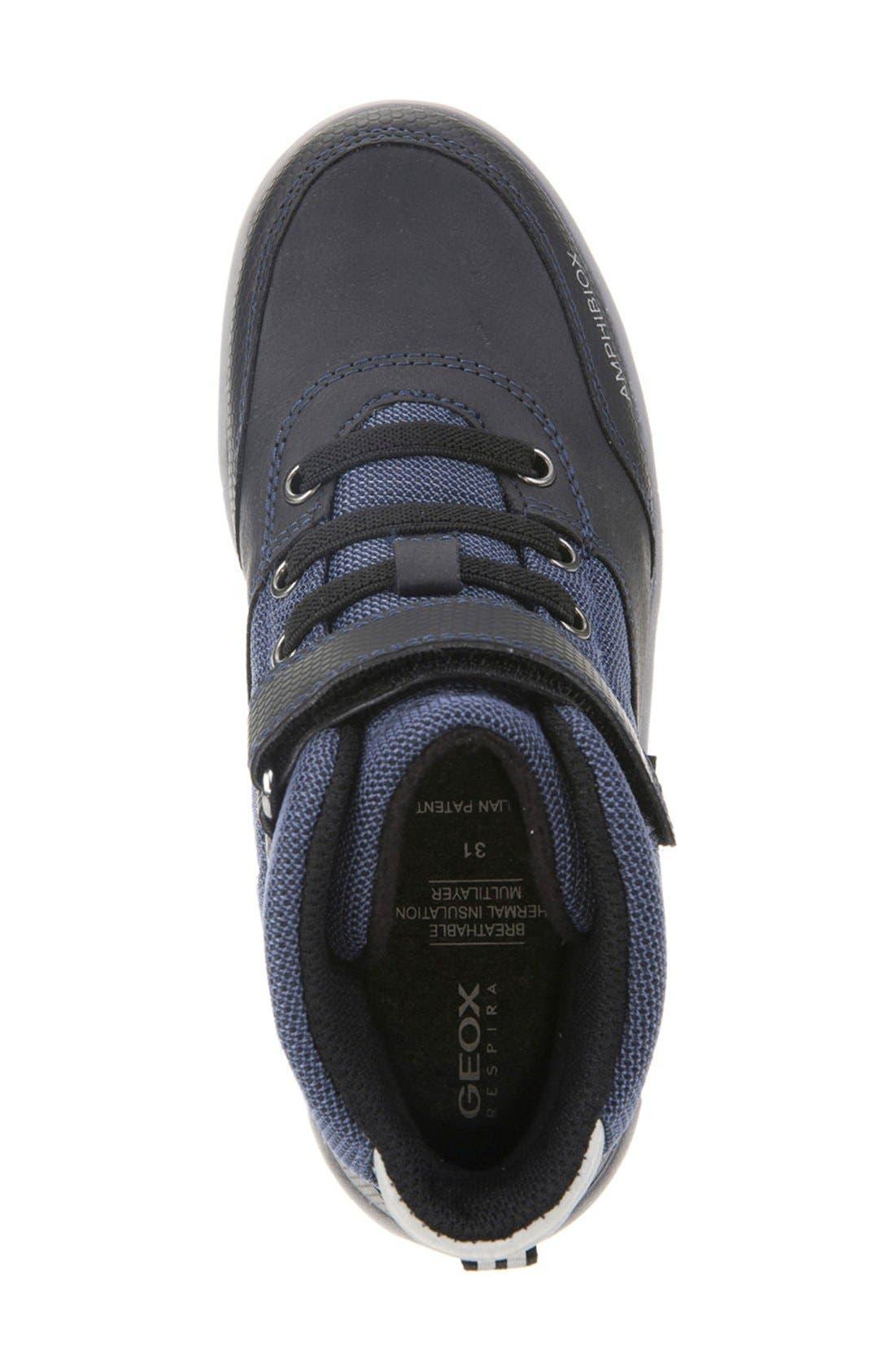 Rolk High Top Sneaker,                             Alternate thumbnail 3, color,                             Navy/ Black