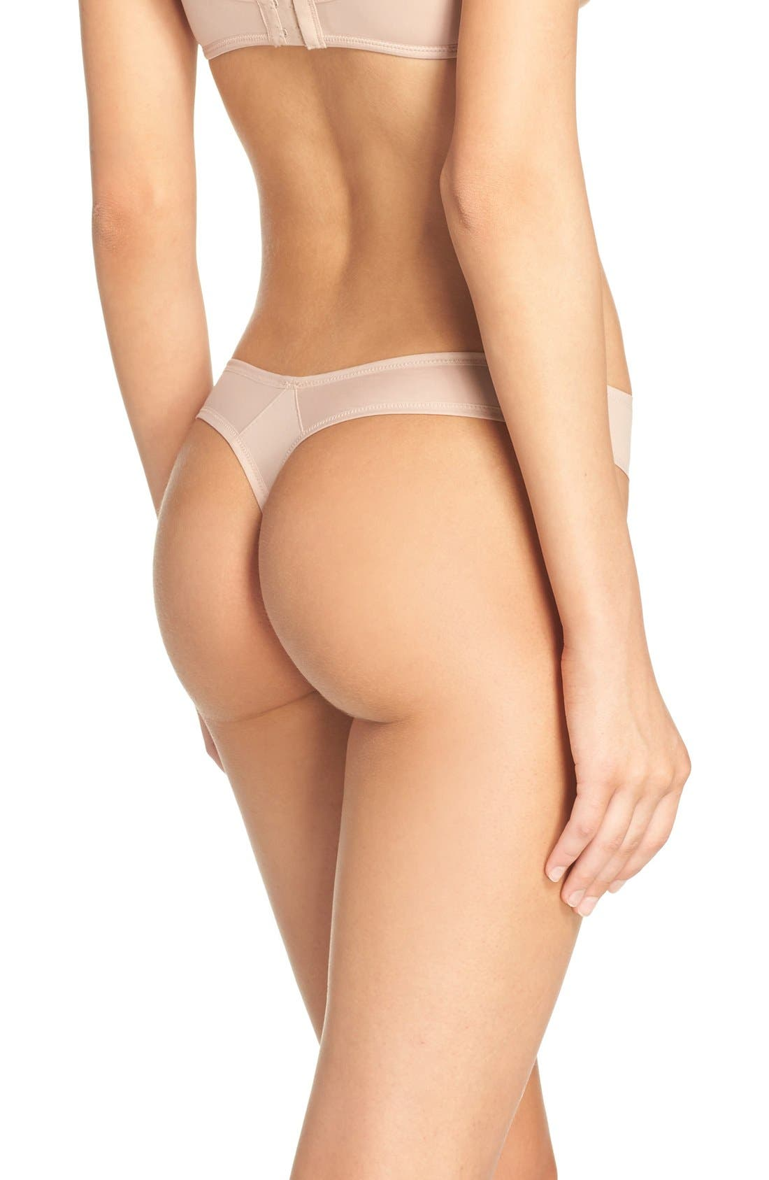 Sensation Plaisir Thong,                             Alternate thumbnail 2, color,                             Cosmetic