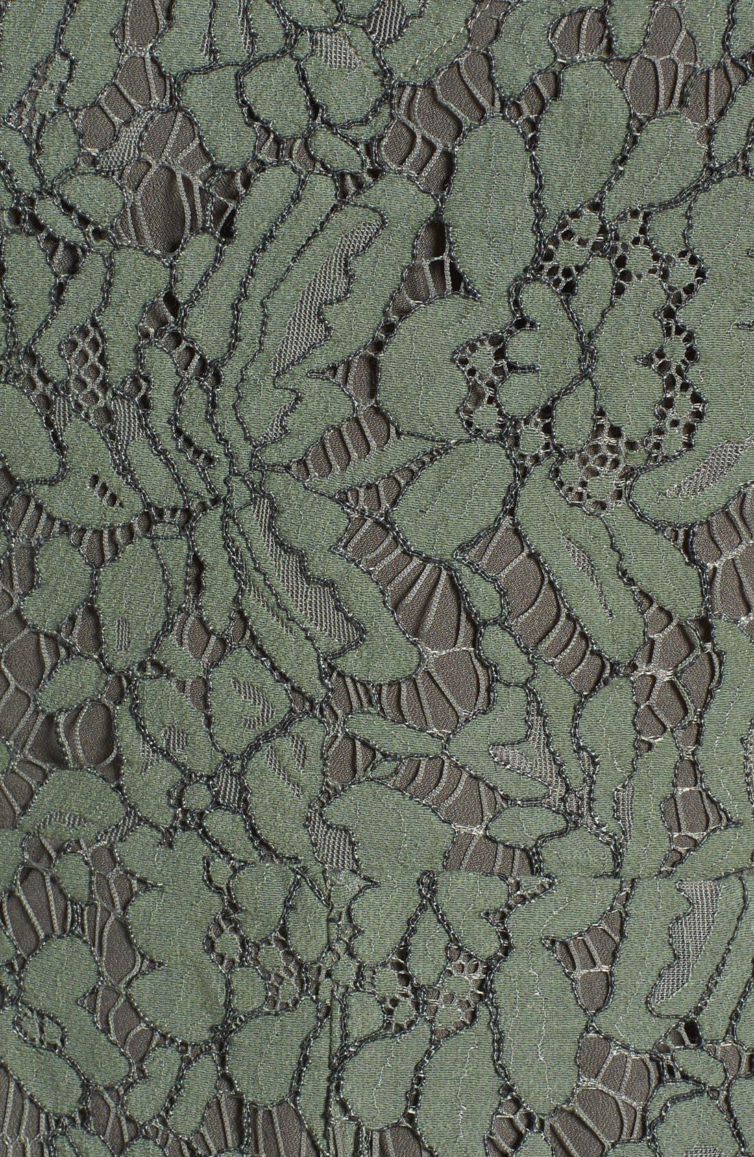 Alternate Image 6  - Keepsake the Label Porcelain Lace Fit & Flare Dress
