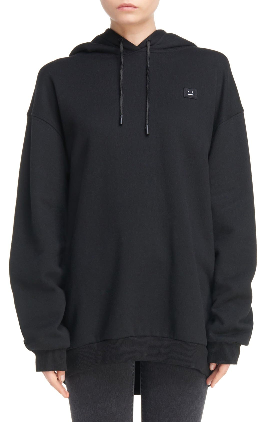 Alternate Image 1 Selected - ACNE Studios Yala Patch Hoodie