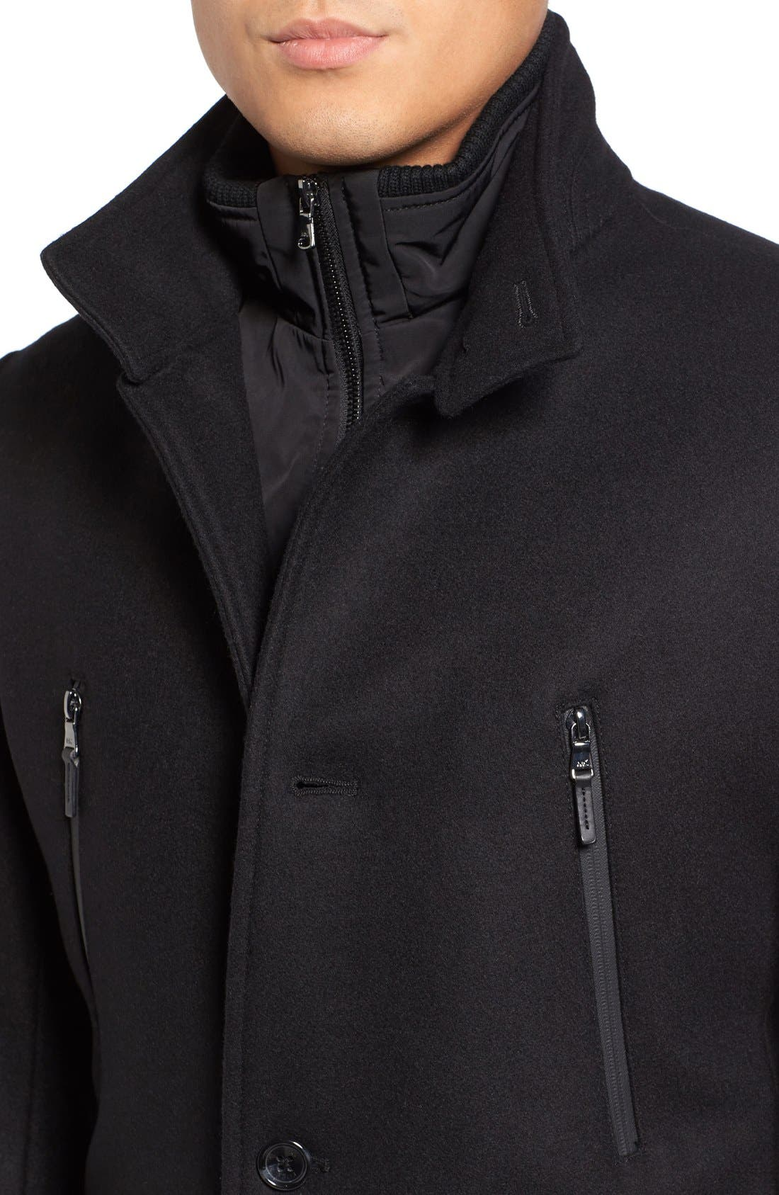 Alternate Image 4  - Michael Kors Wool Blend Topcoat