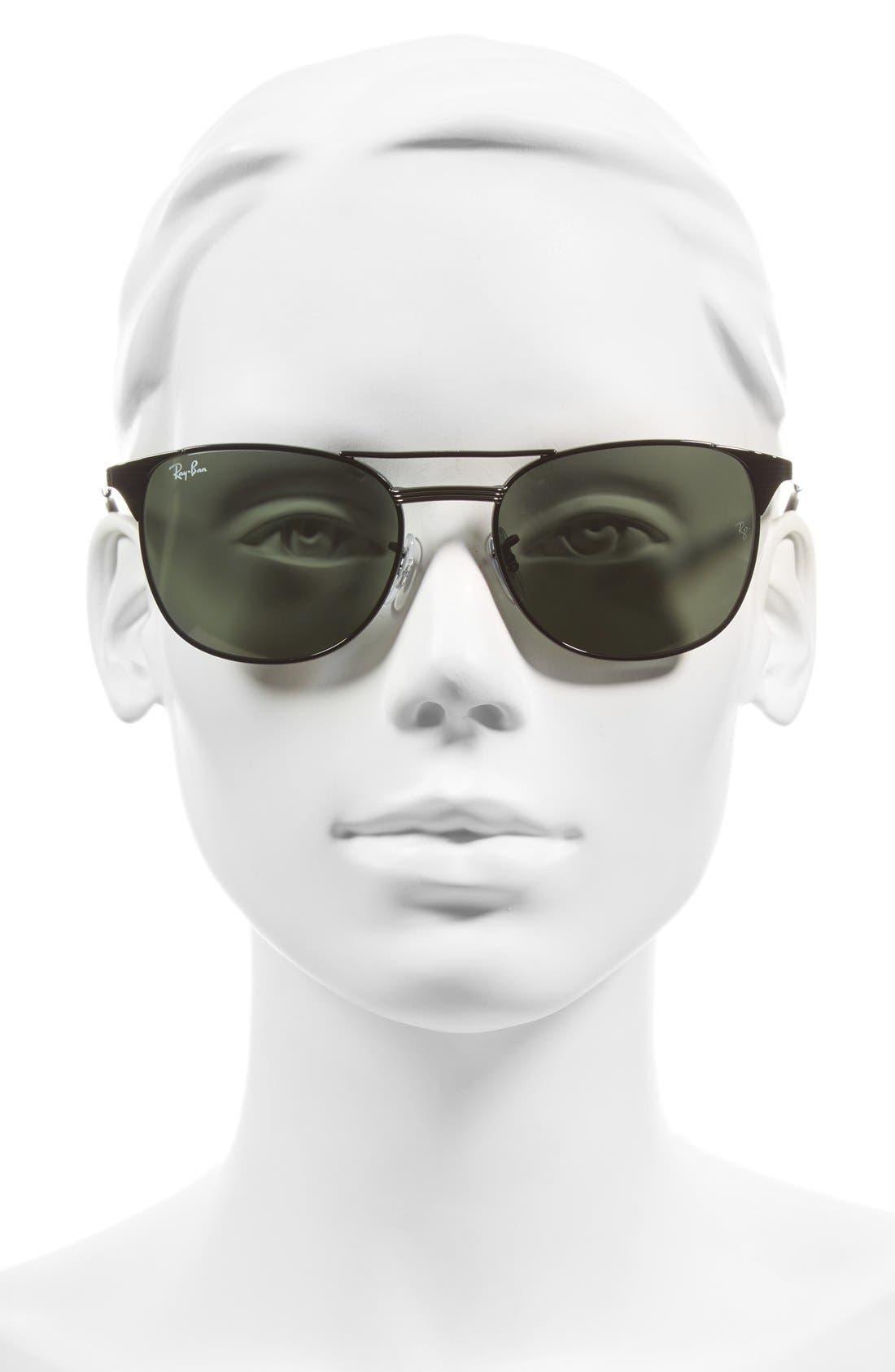 Alternate Image 2  - Ray-Ban Small Icons 55mm Retro Sunglasses