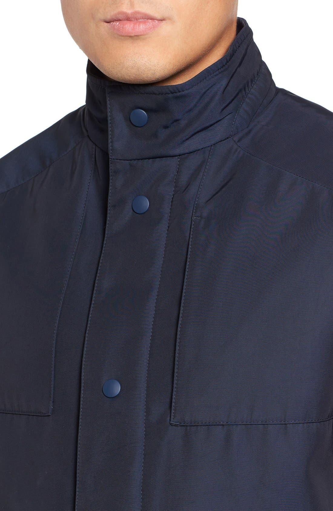 Lightweight Jacket,                             Alternate thumbnail 4, color,                             Navy