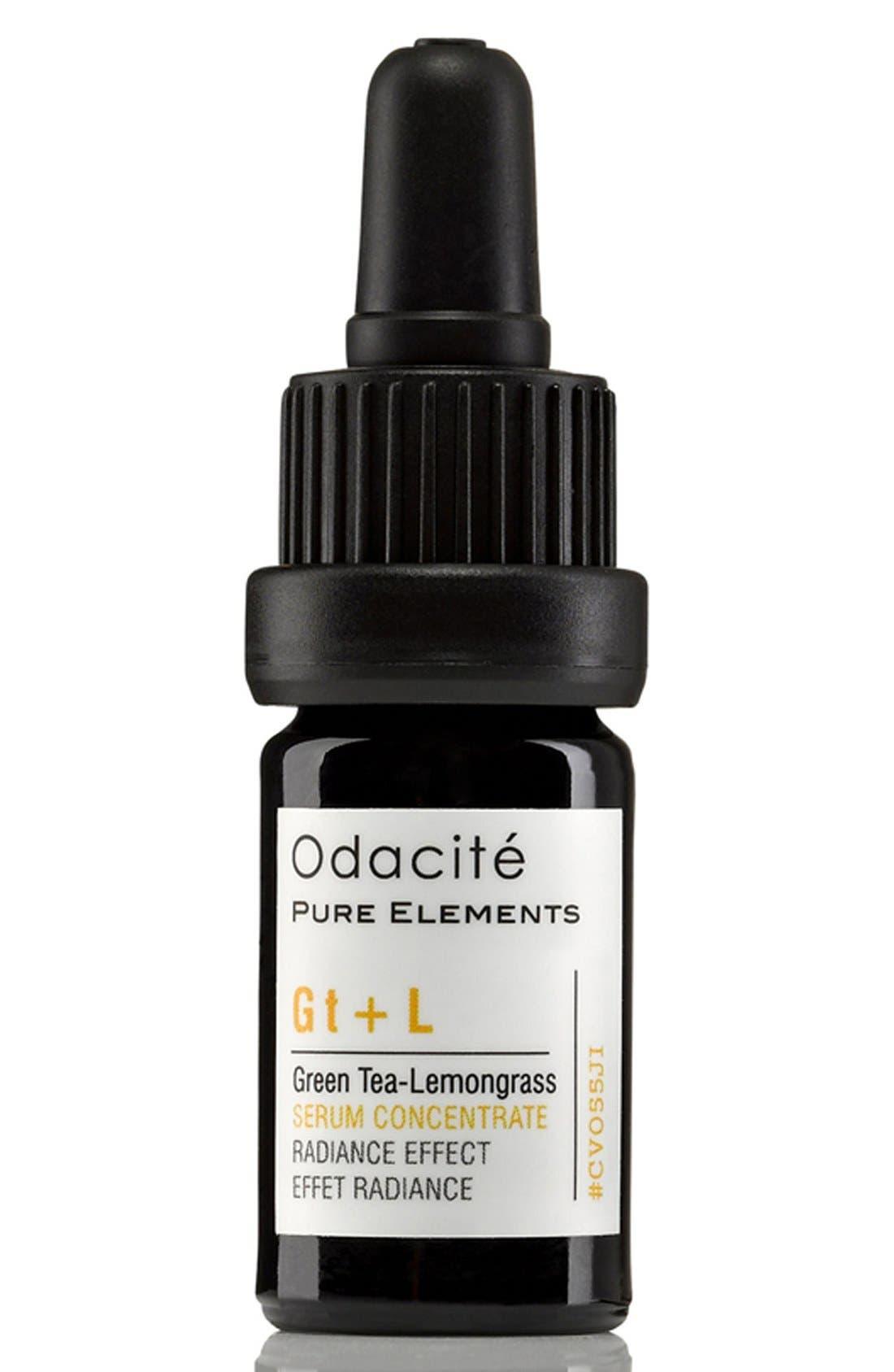 Odacité Gt + L Green Tea-Lemongrass Radiance Effect Serum Concentrate
