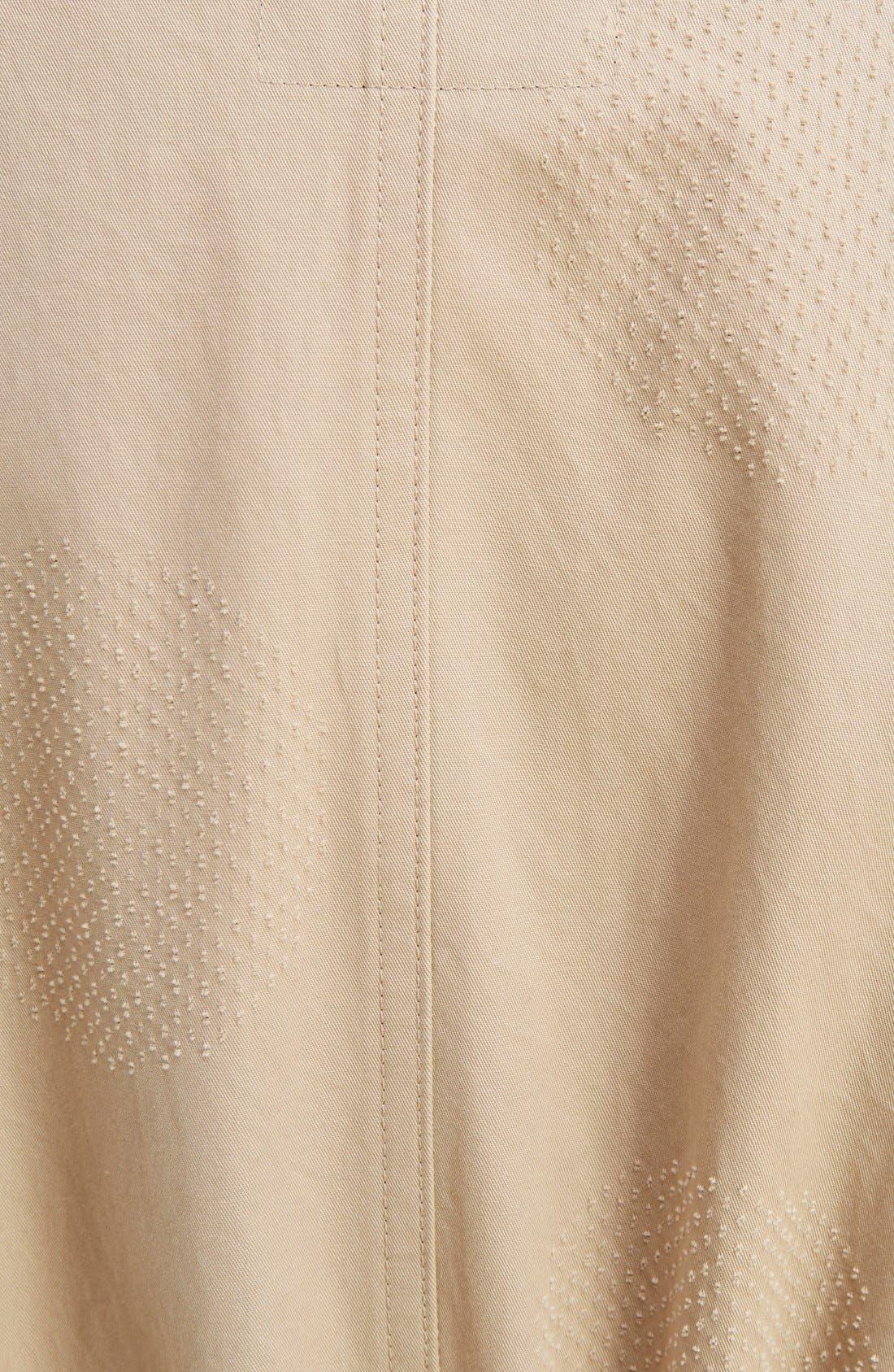 U-Gown Coat,                             Alternate thumbnail 3, color,                             Beige