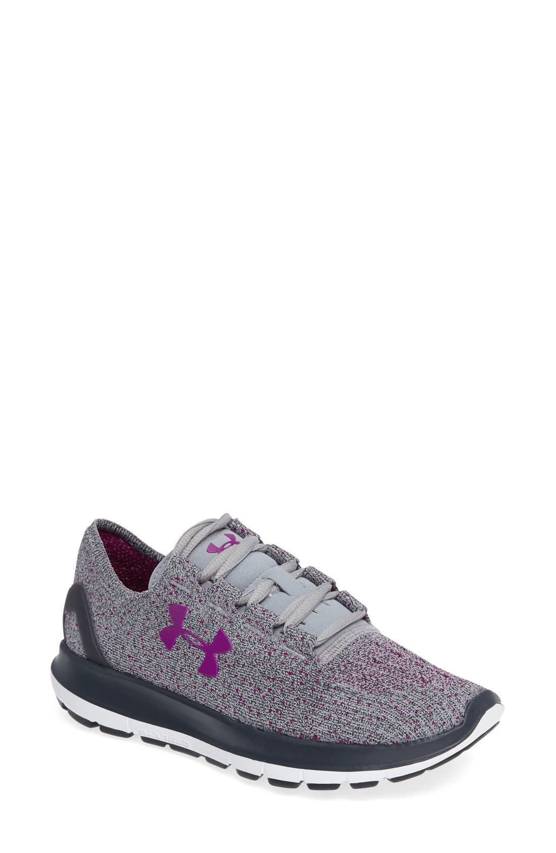 Alternate Image 1 Selected - Under Armour SpeedForm® Slingride Tri Running Shoe (Women)