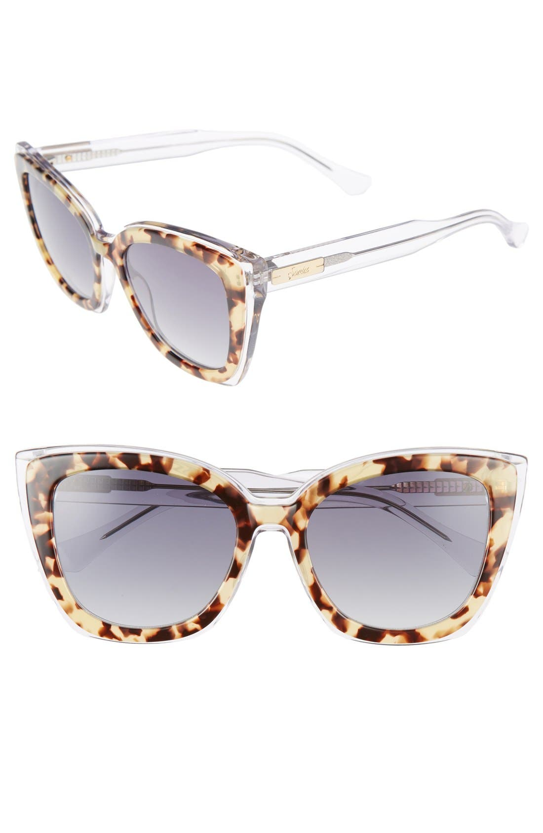 Alternate Image 1 Selected - Sonix Lafayette 53mm Gradient Cat Eye Sunglasses