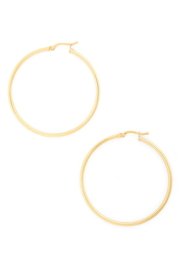 Main Image Bony Levy 14k Gold Hoop Earrings Nordstrom Exclusive