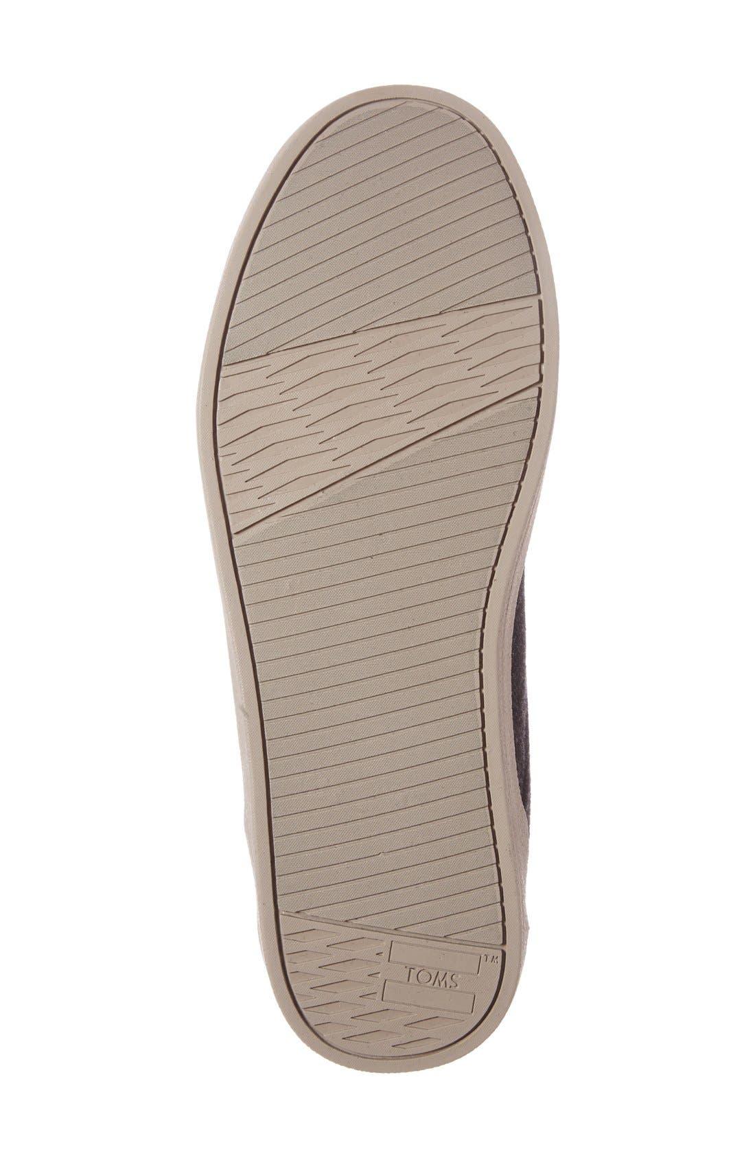 'Paseo Mid' Sneaker,                             Alternate thumbnail 4, color,                             Grey