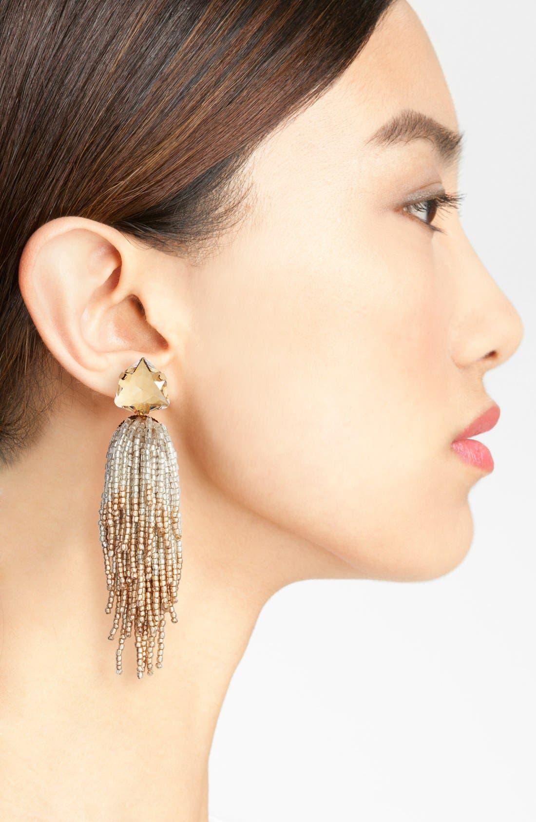 Alternate Image 2  - Tory Burch Tassel Earrings