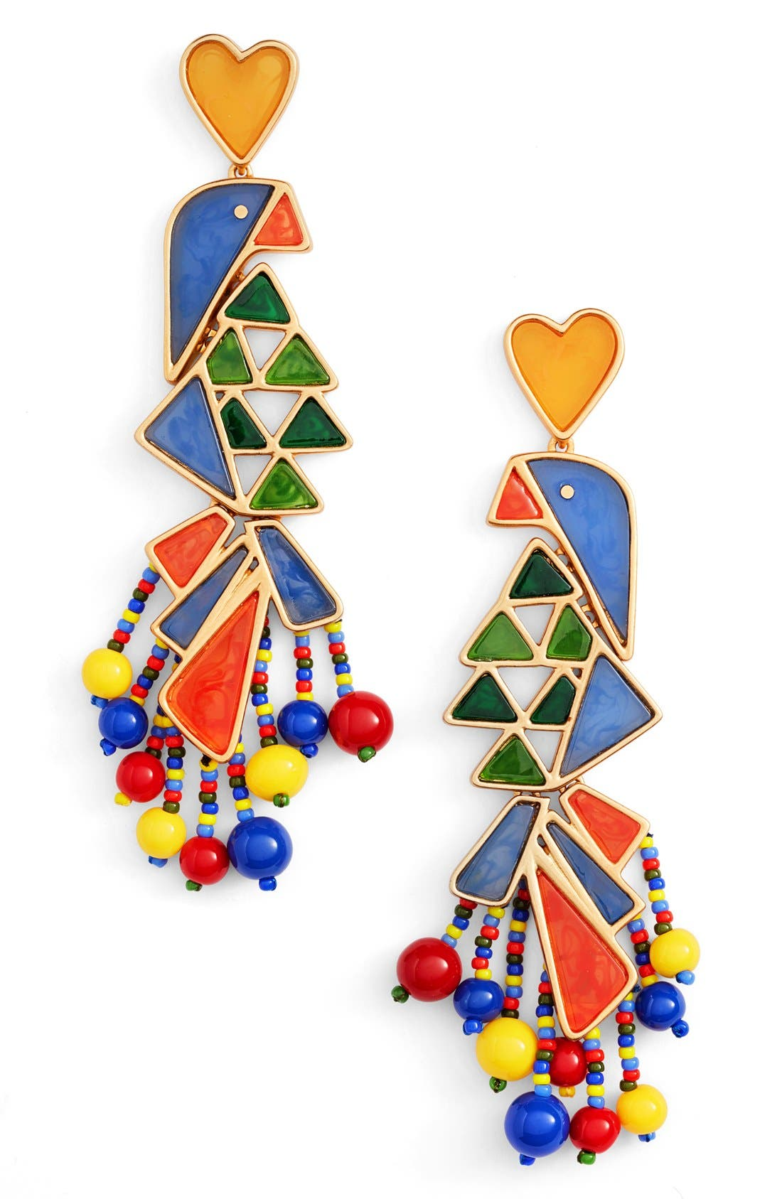 Tory Burch Statement Earrings