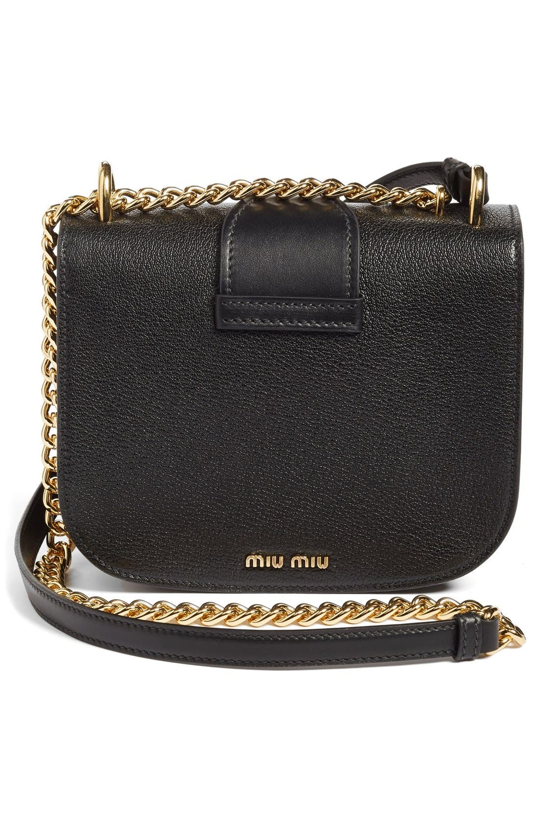 Alternate Image 3  - Miu Miu Madras Leather Crossbody Bag