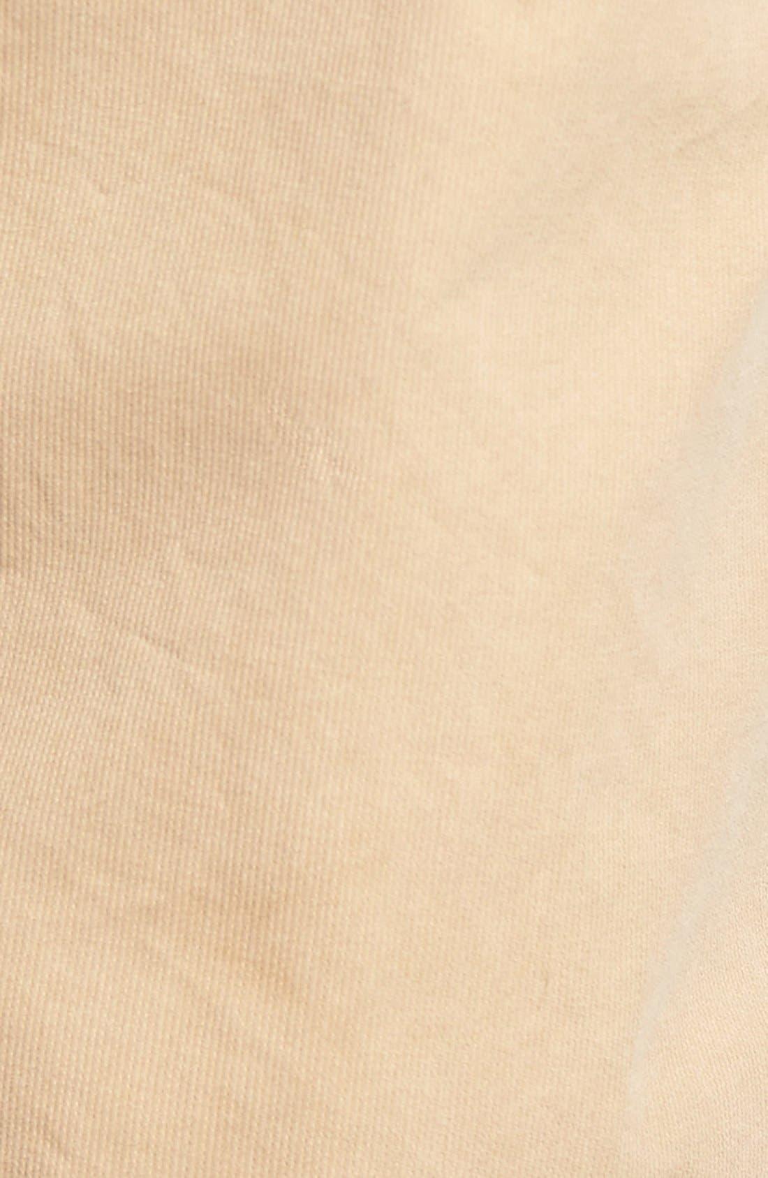 St. Martin Bedford Cord Shorts,                             Alternate thumbnail 5, color,                             Khaki