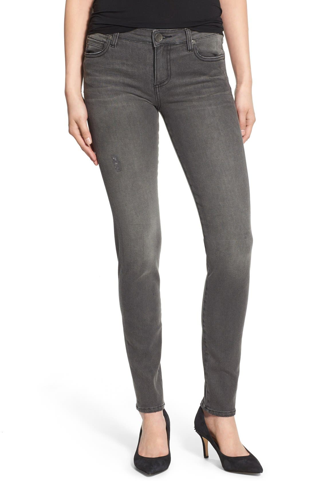 Alternate Image 1 Selected - KUT from the Kloth 'Diana' Stretch Skinny Jeans (Continuity) (Regular & Petite)