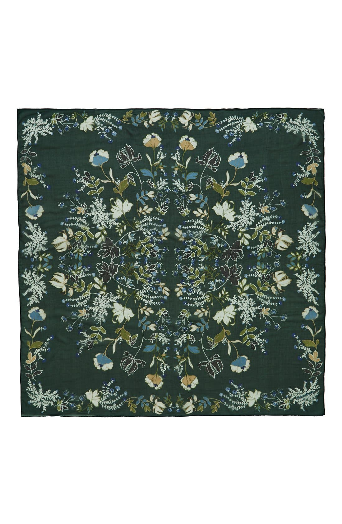 Alternate Image 2  - Vince Camuto 'Canyon Kaleidoscope' Square Silk Scarf