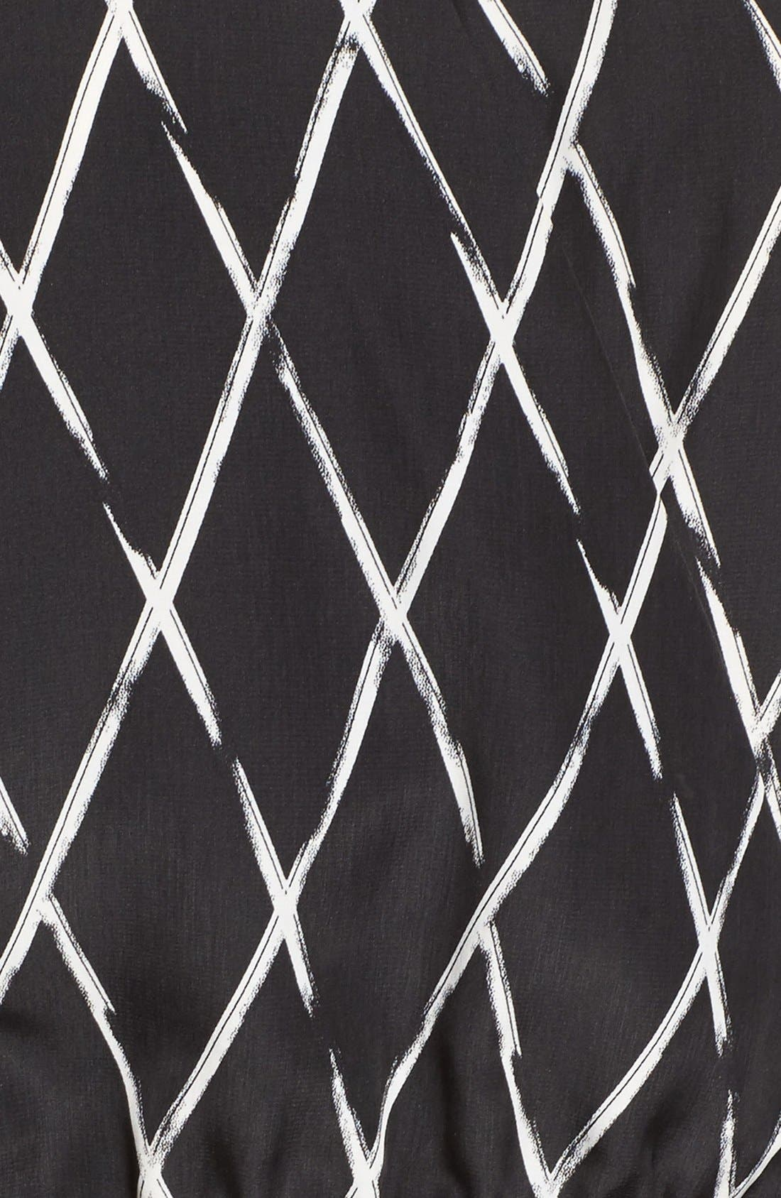 Alternate Image 5  - Halogen® V-Neck Sleeveless Jumpsuit (Regular & Petite)