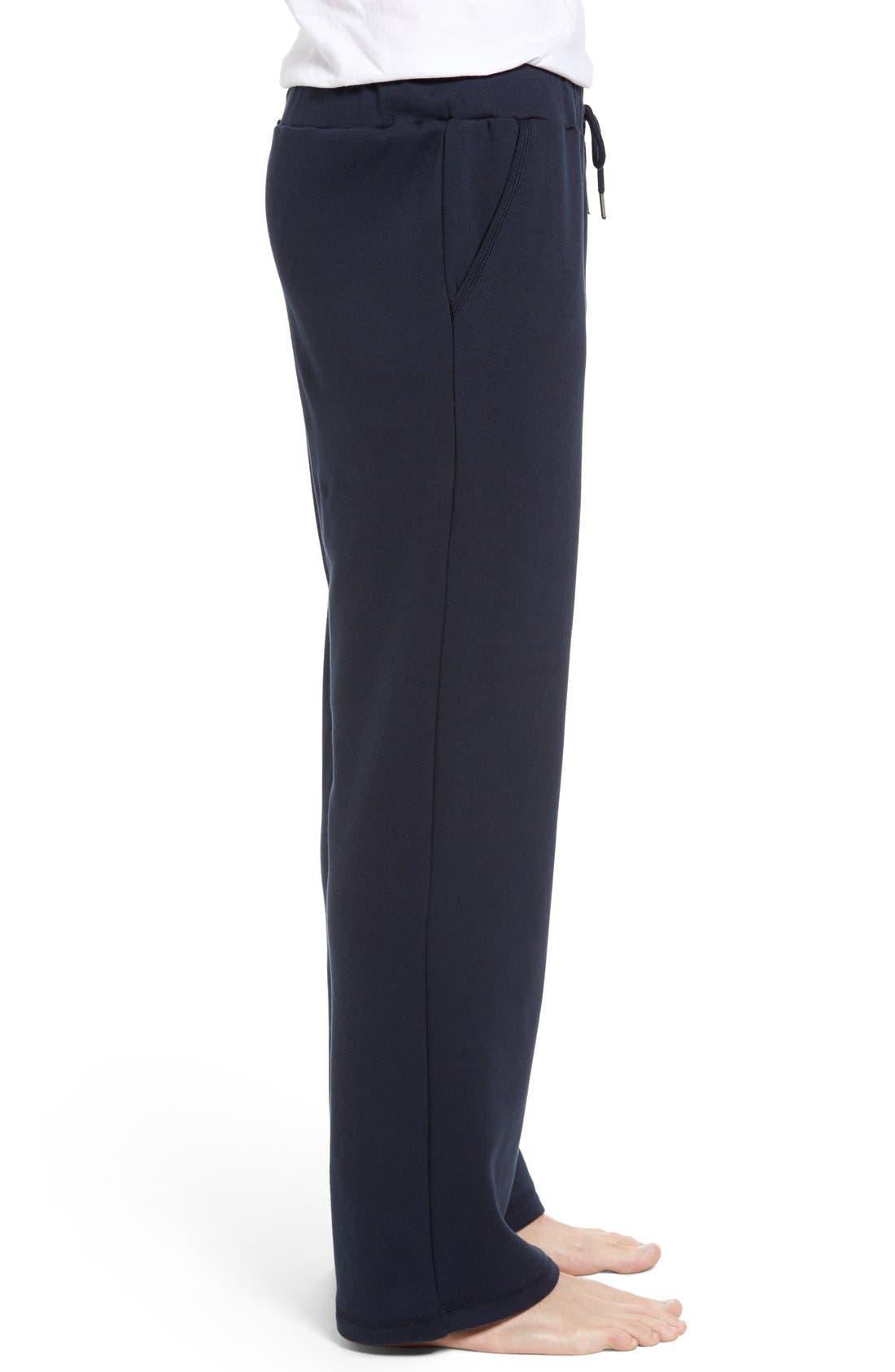 Alternate Image 3  - Nordstrom Men's Shop Fleece Lounge Pants