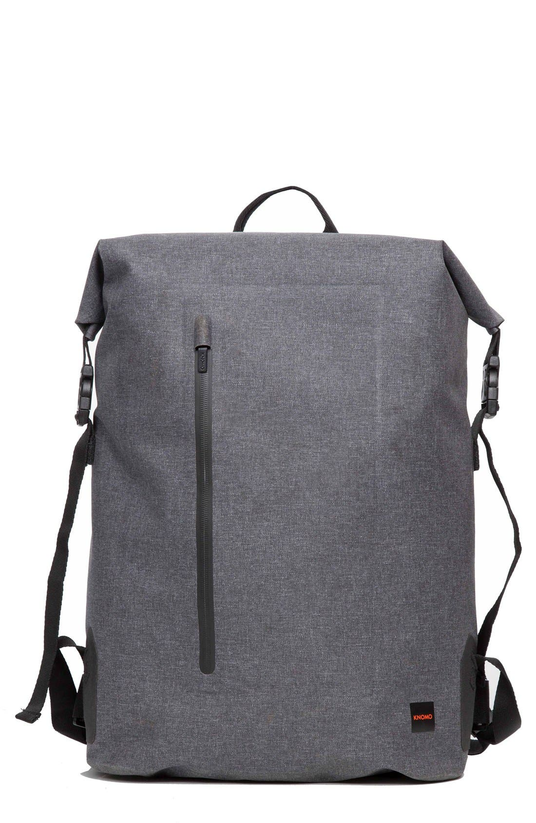 Thames Cromwell Roll Top Backpack,                             Main thumbnail 1, color,                             Grey