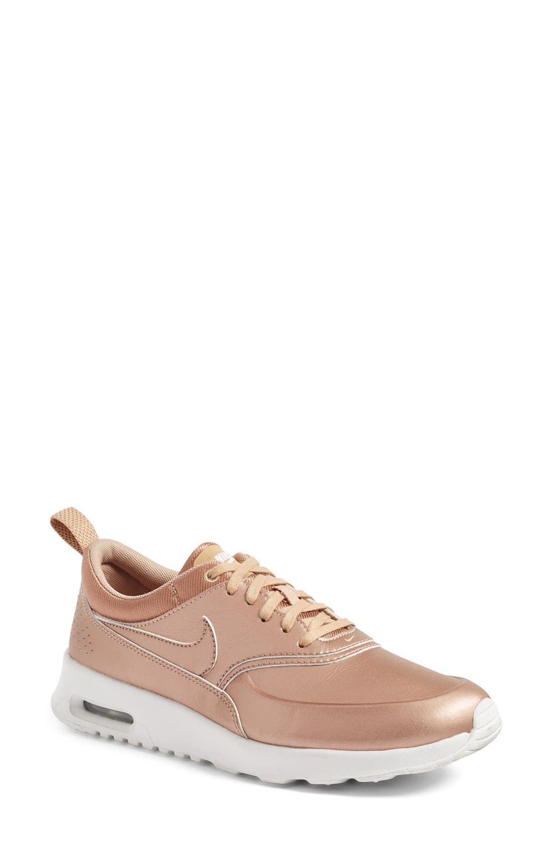 Air Max Thea SE Sneaker,                             Main thumbnail 1, color,                             Metallic Bronze