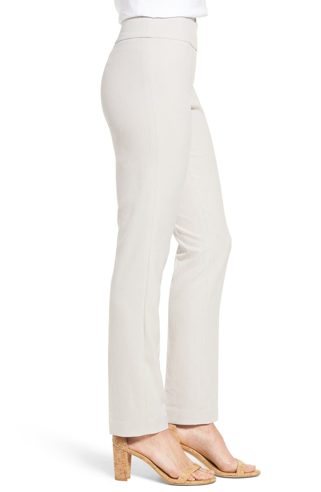 Alternate Image 3  - NIC+ZOE Stretch Knit Slim Leg Pants