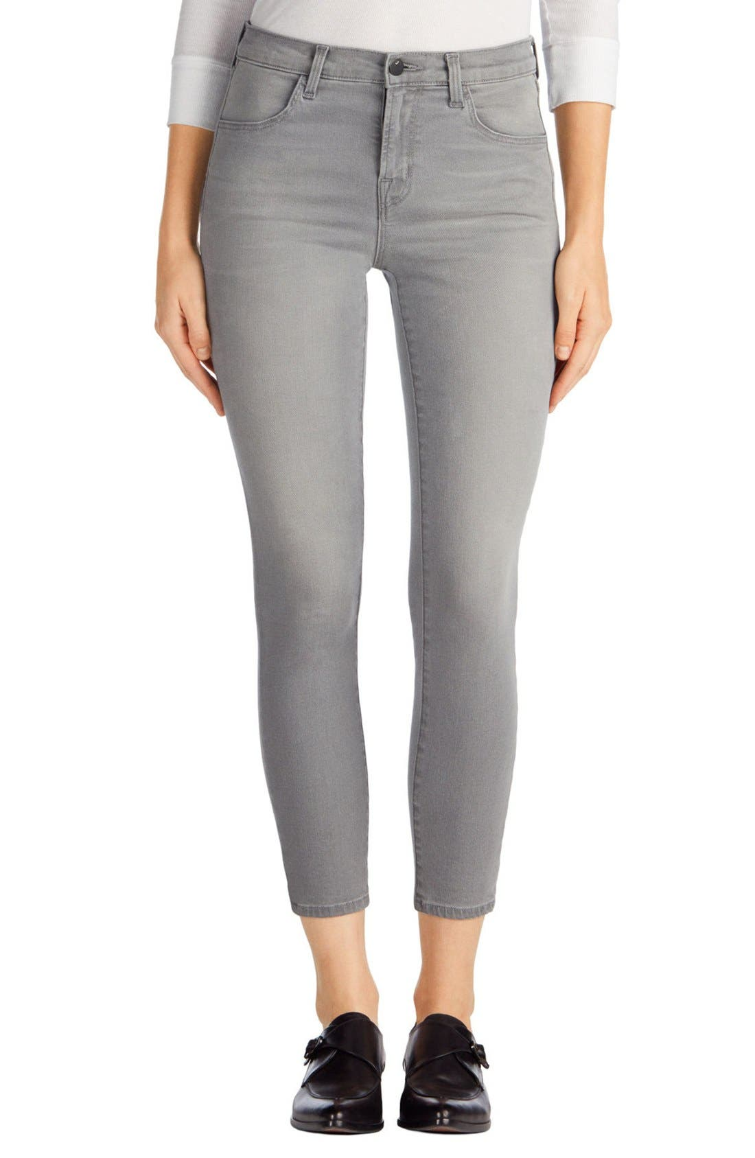 Alternate Image 1 Selected - J Brand Capri Skinny Jeans