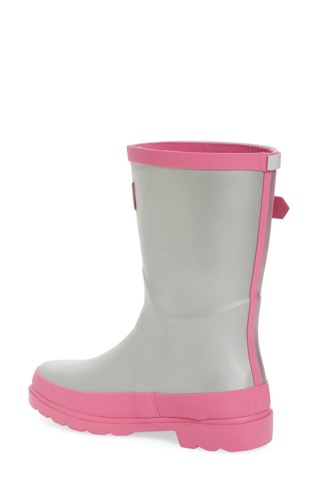 Field Welly Rain Boot,                             Alternate thumbnail 2, color,                             Silver