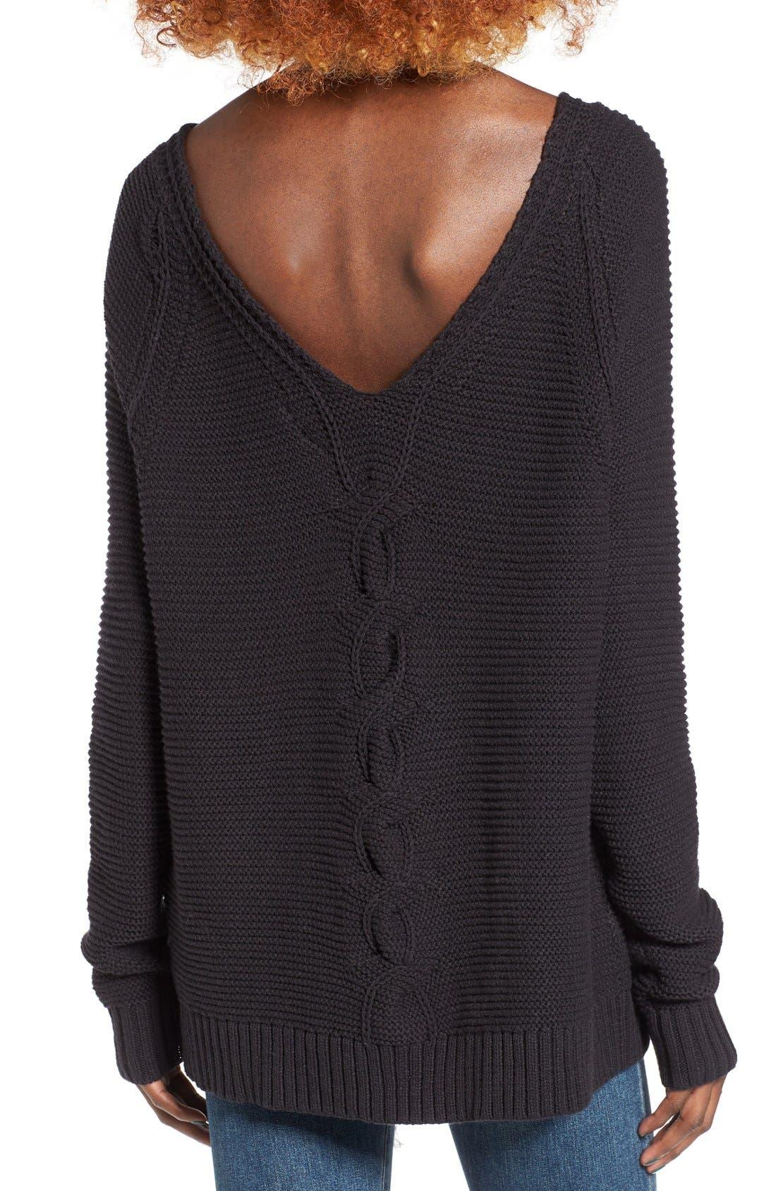 Alternate Image 2  - Roxy Lost Coastlines Knit Sweater