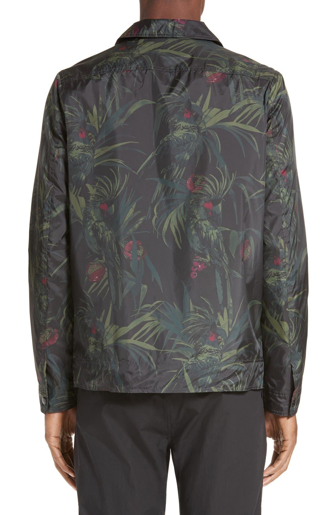 Alternate Image 2  - PS Paul Smith Dark Tropical Woven Work Jacket