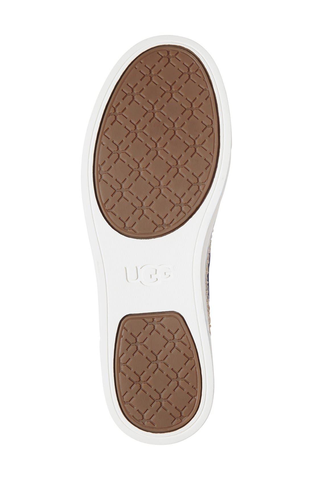 Alternate Image 4  - UGG® 'Caleel' Slip-On Sneaker (Women)