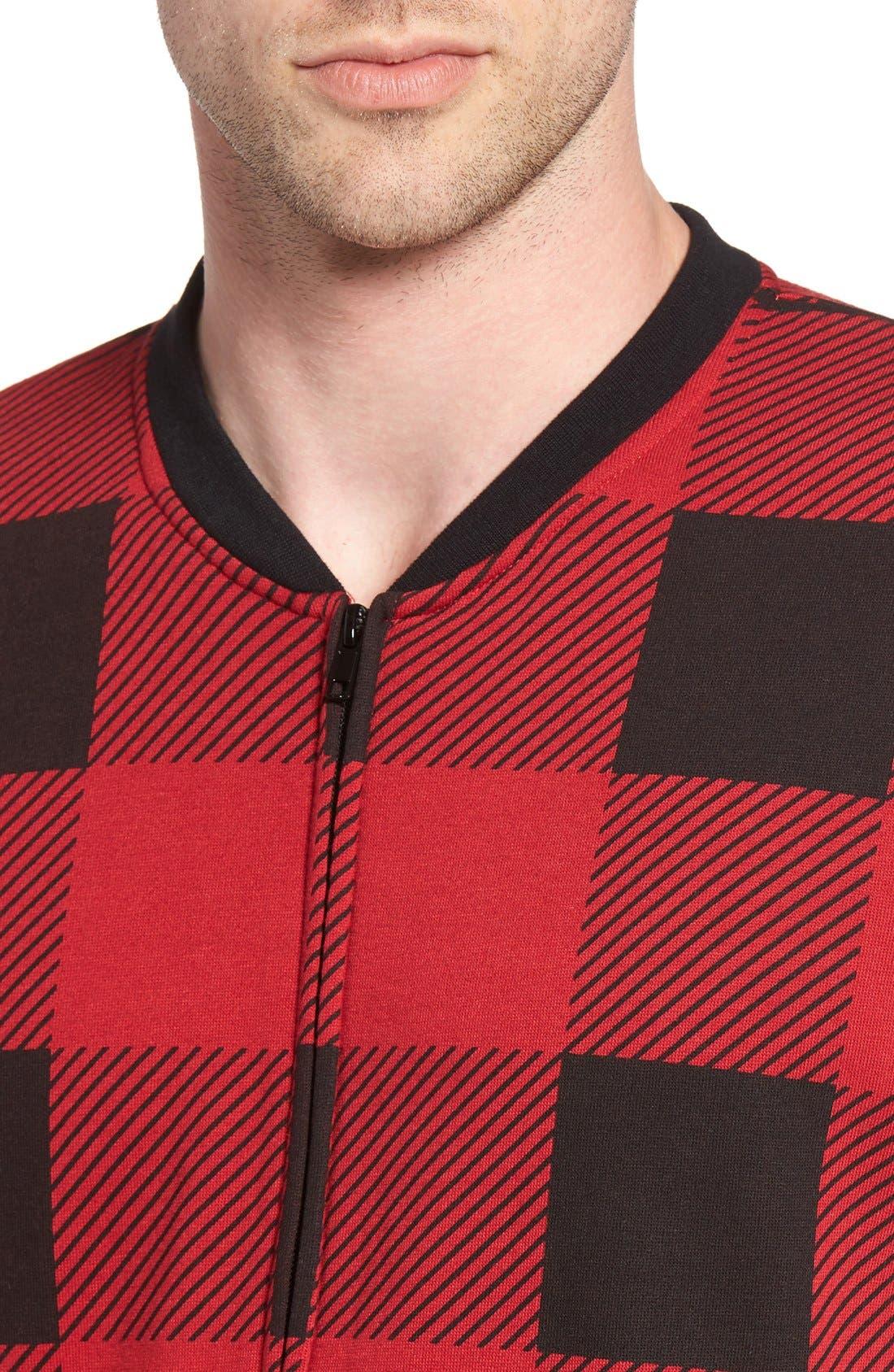 Alternate Image 4  - The Rail Fleece One-Piece Pajamas