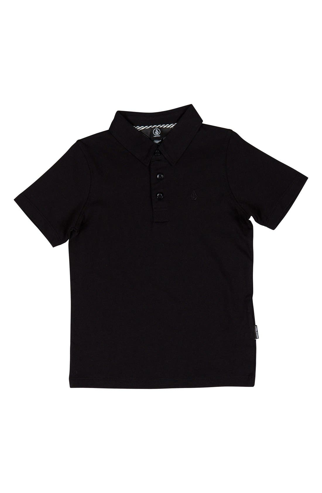 Volcom Wowzer Polo (Toddler Boys, Little Boys & Big Boys)