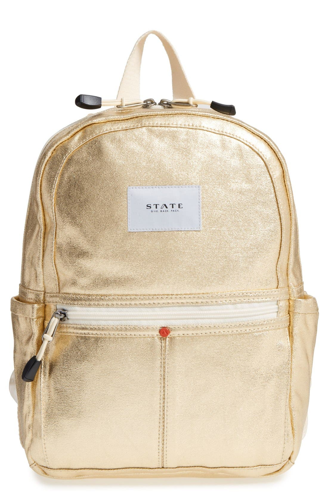 Alternate Image 1 Selected - STATE Bags Downtown Mini Kane Canvas Backpack