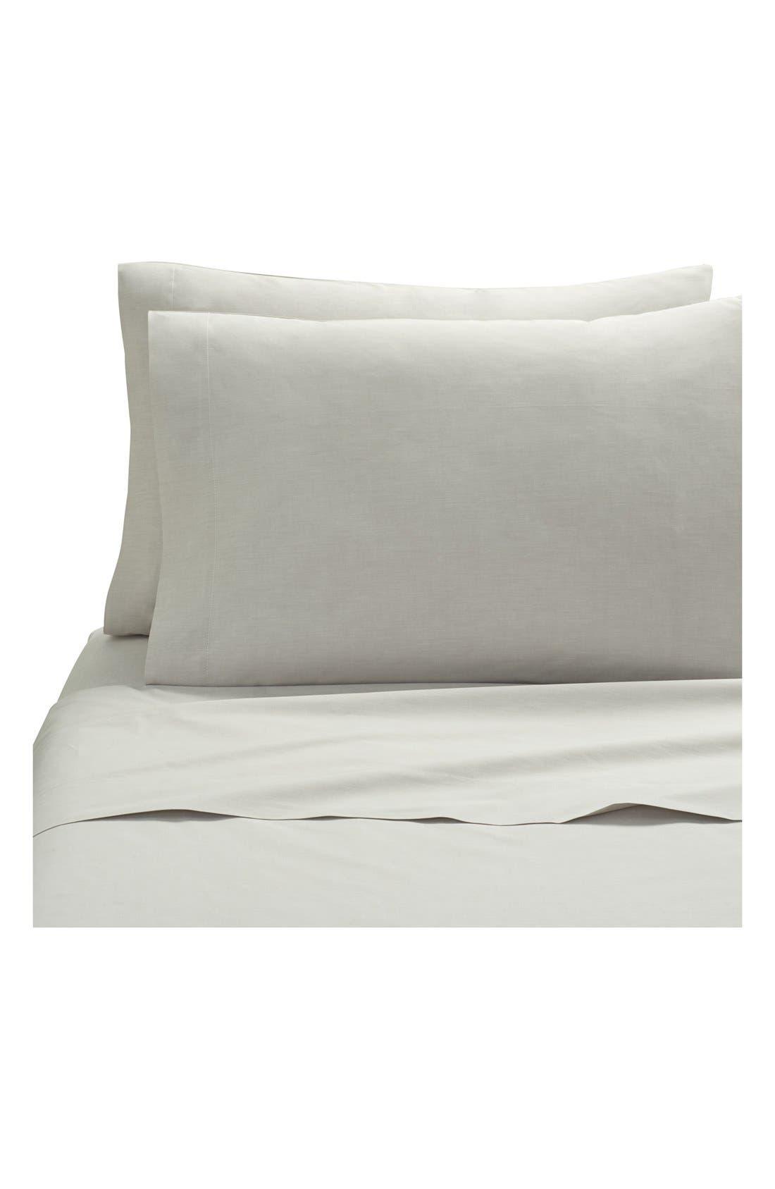 Ascott Pillowcases,                         Main,                         color, Linen Solid