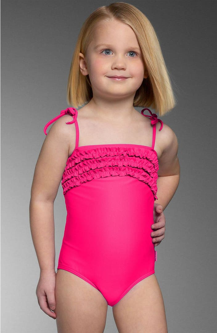Seafolly Girl Ruffle Swimsuit (Toddler & Little Girls ...