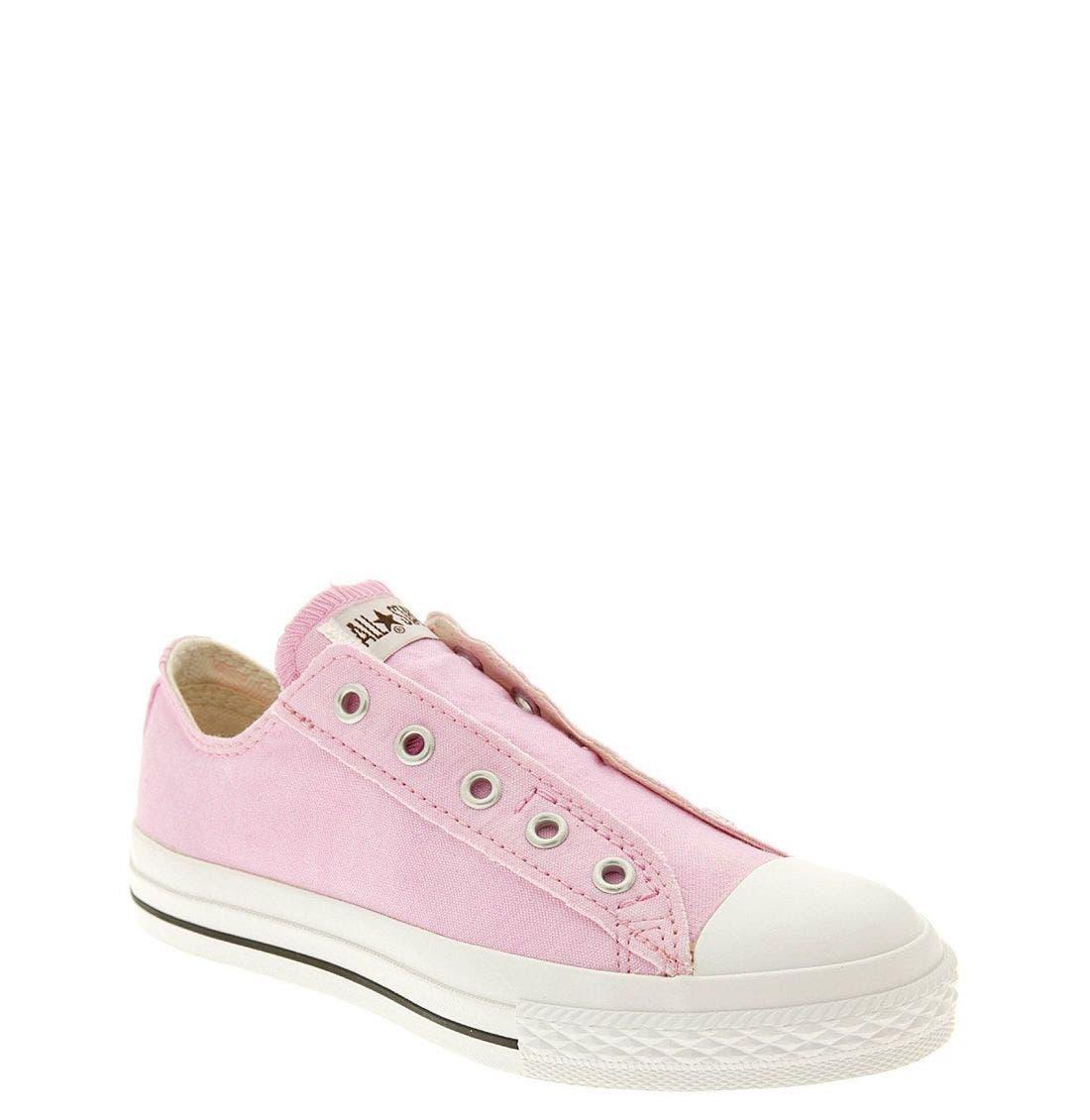 Alternate Image 1 Selected - Converse Chuck Taylor® Slip-On Sneaker (Big Kid)