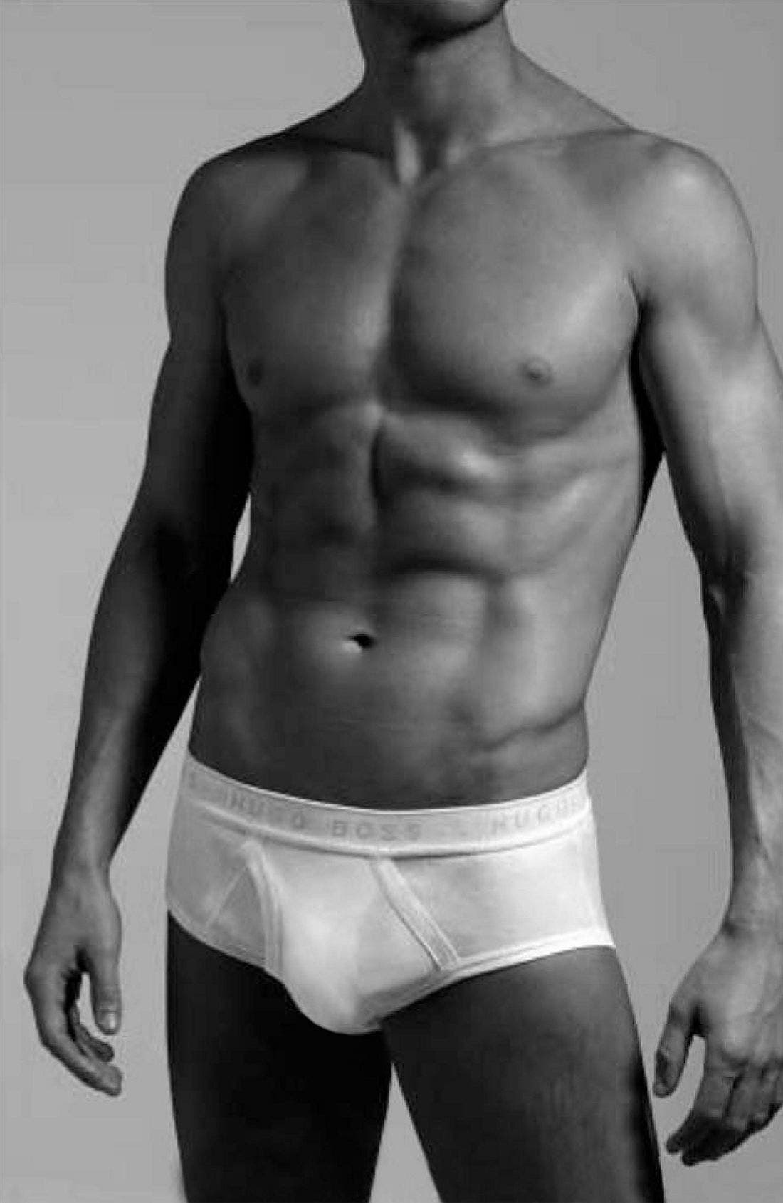 Alternate Image 1 Selected - BOSS Black Briefs (3-Pack)