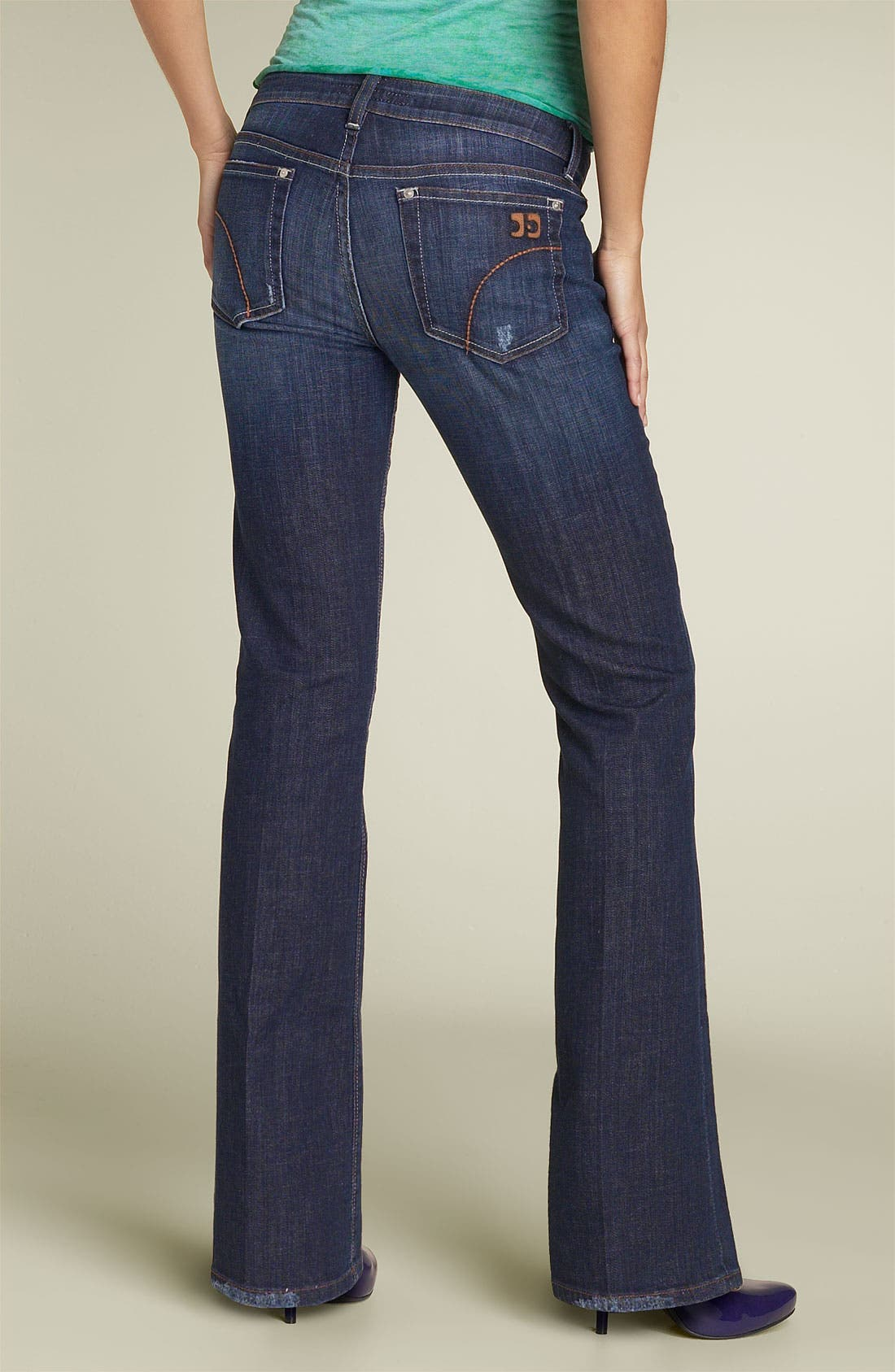 Alternate Image 1 Selected - Joe's Jeans 'Honey' Curvy Fit Stretch Jeans (Ryder Wash)