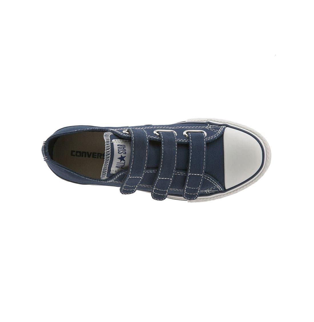 Alternate Image 3  - Converse Chuck Taylor® Triple Strap Sneaker (Toddler & Little Kid)