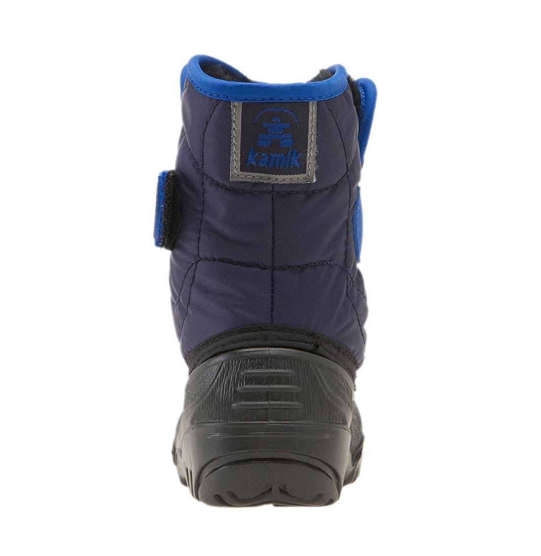Alternate Image 4  - Kamik 'Snowbug' Waterproof Boot (Walker & Toddler)